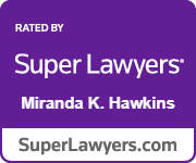 Logo: Super Lawyer Miranda Hawking