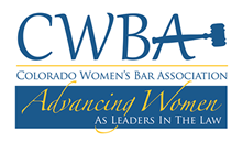 Logo: Colorado Women's Bar Association